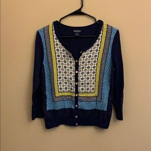 Lucky Brand patterned cardigan
